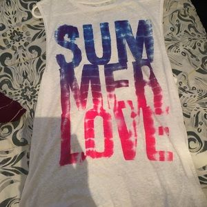 American eagle muscle tank top!